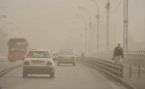 عکس+آلودگی+تهران
