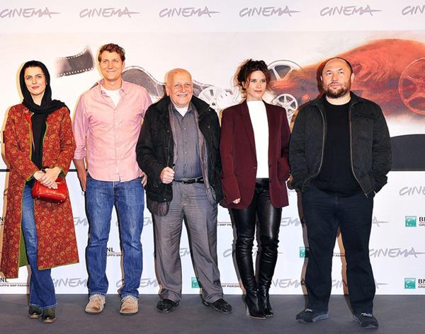 عکسهای جدید لیلا حاتمی در جشنواره فیلم رم
