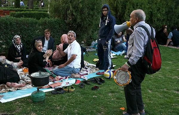 تصاویر سيزده بدر در تهران
