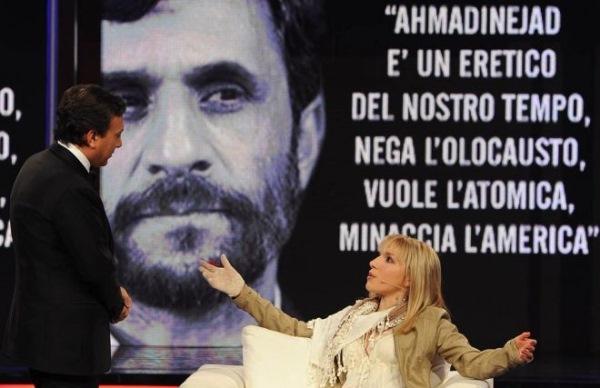 دختر ایتالیایی ول کن نیست / خواستگاری دوباره از احمدی نژاد 1