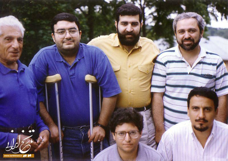 تصویر) محمدجواد ظریف در جوانی