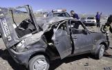 (تصاویر) واژگونی خودرو P.K در سبزوار