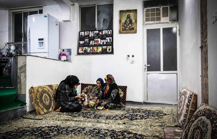 (تصاویر) پایان بیخانمانی بیبیشهربانو