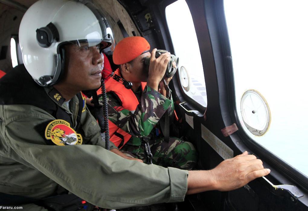 (تصاویر) یافتههای تازه از هواپیمای اندونزی