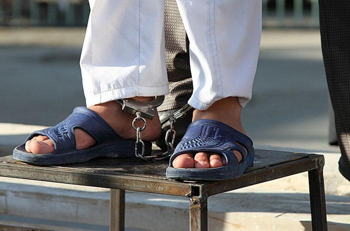 (تصاویر) اعدام 3 متجاوز به عنف در طرقبه