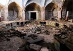 (تصاویر) شرایط وخیم حمام باغ الله در کرمان