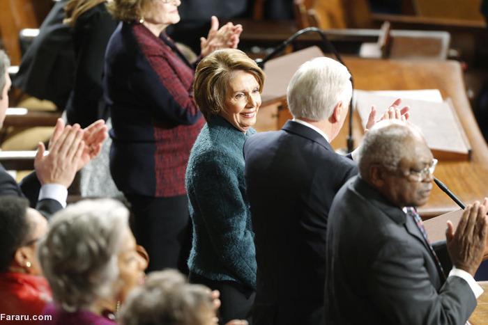 (تصاویر) آغاز بهکار کنگره جدید امریکا