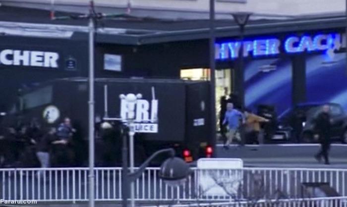 (تصاویر) گروگانگیری در پاریس