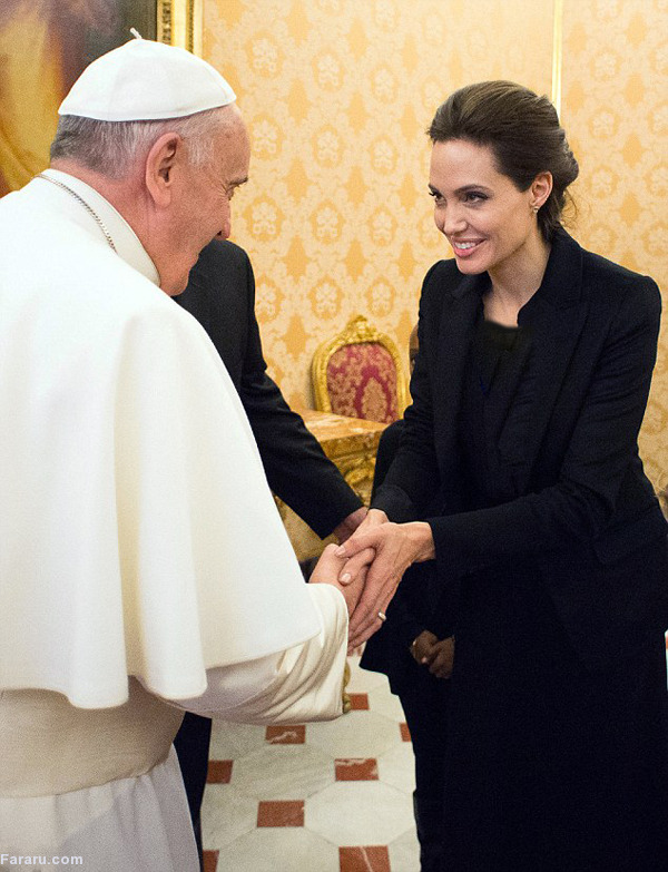 همسر آنجلینا جولی لو رفته آنجلینا جولی بیوگرافی آنجلینا جولی