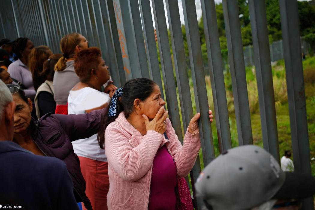 (تصاویر) صف خرید مایحتاج زندگی در ونزوئلا