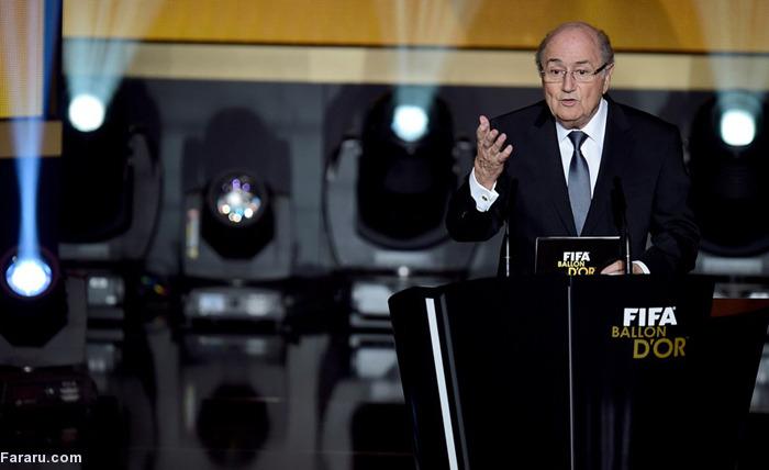 (تصاویر) مراسم انتخاب بهترین بازیکن سال جهان