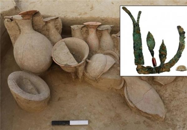 کشف یک تاج ۴۰۰۰ ساله در هند