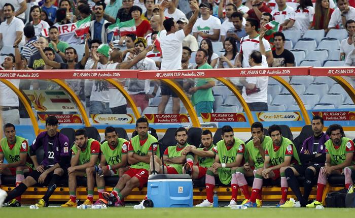 (تصاویر) حواشی دیدار ایران و قطر