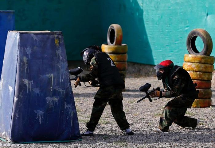 (تصاویر) پینتبال بانوان در کابل
