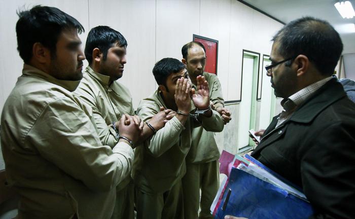 (تصاویر) دستگیری راهزنان جنوب تهران