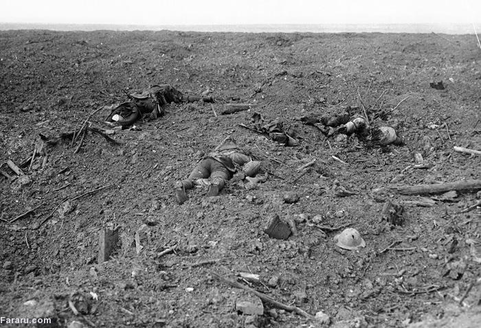 (تصاویر) آلبوم جنگجهانیاول؛ جبهه غرب(2)
