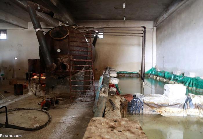 (تصاویر) تجارت نفتی داعش در سوریه
