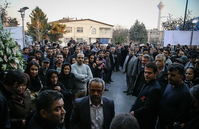(تصاویر) مجلس ترحیم مرتضی احمدی