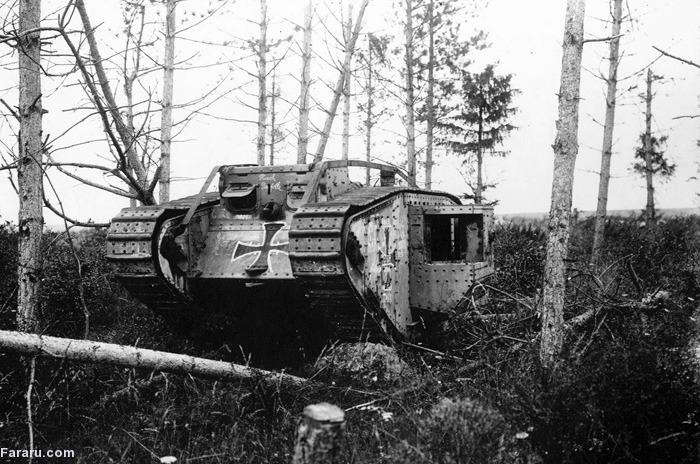 (تصاویر) جنگجهانیاول؛ ماشینهای کشتار(2)