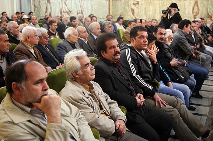 (تصاویر) شب هفت مرتضی احمدی