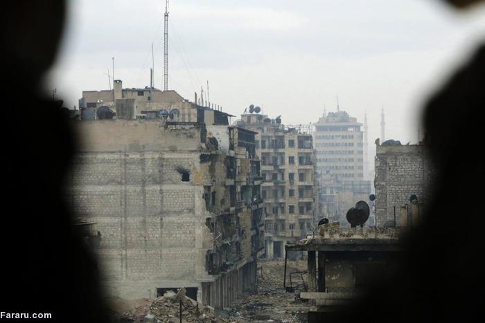(تصاویر) زنان جنگجوی «حلب»