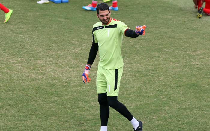 (تصاویر) تمرین تیمملی برای بازی با عراق