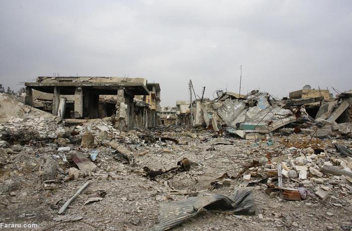 (تصاویر) کوبانی؛ شهر ویران