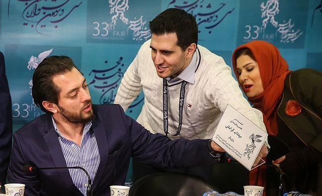 عکس های سحر دولتشاهی در نقد و بررسی فیلم عصر یخبندان در مشهد