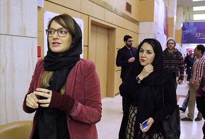 جدید ترین عکس های مهناز افشار در حاشیه جشنواره فیلم فجر