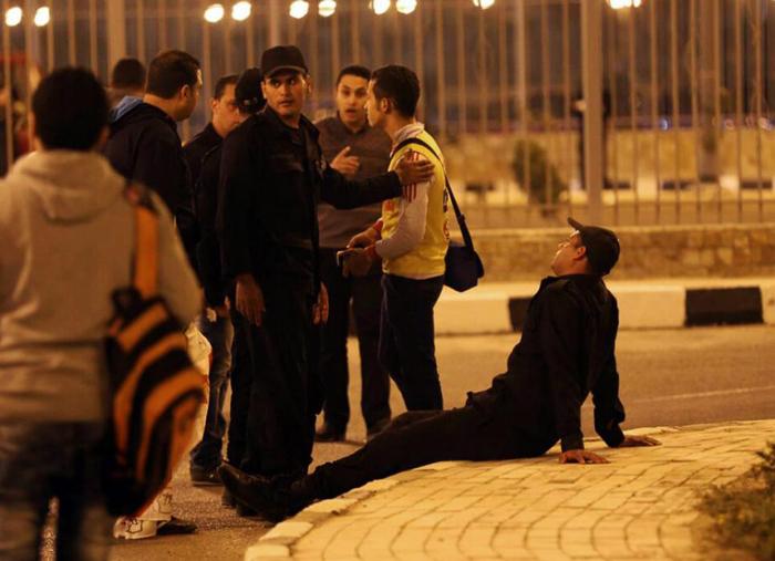 22نفر در مصر در جریان مسابقه فوتبال کشته شدند