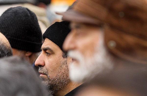 (تصاویر) برگزاری مراسم تشییع مادر احمدینژاد