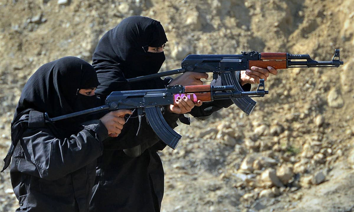(تصاویر) زنان کماندو در پاکستان