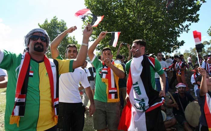 (تصاویر) حواشی دیدار ایران و عراق