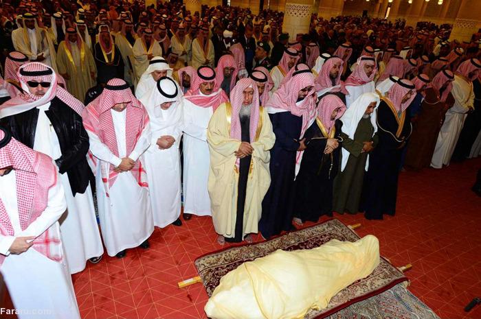 (تصاویر) مراسم تشییع ملک عبدالله