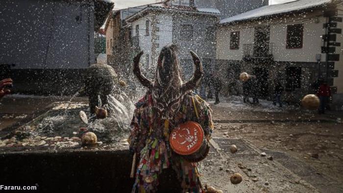 (تصاویر) حمله به شیطان با شلغم