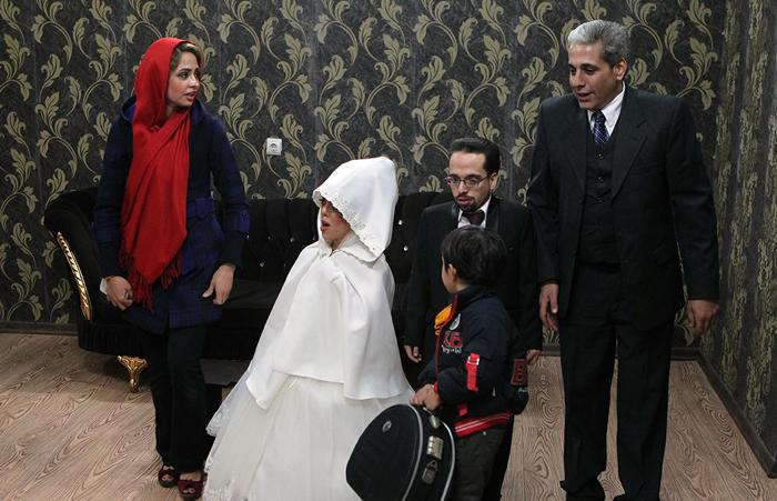 (تصاویر) ازدواج دو «کوتاه قامت بلند همت»