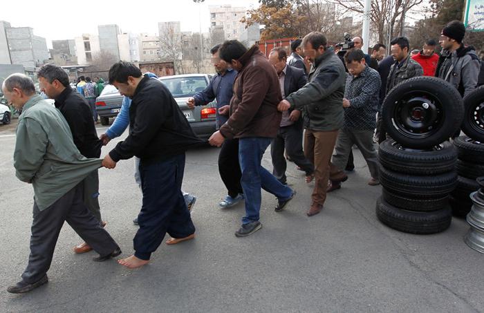 (تصاویر) دستگیری اعضای ده باند سرقت