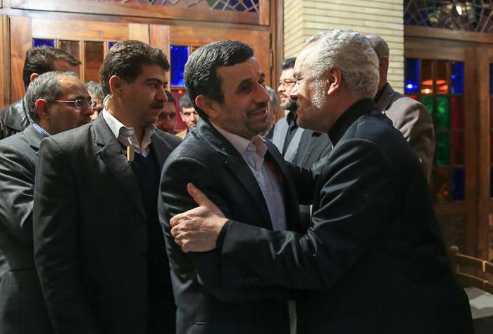 (تصاویر) رحیمی و احمدینژاد در سالهای