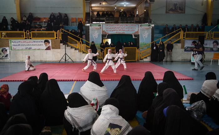 (تصاویر) مسابقات قهرمانی بانوان سپاه