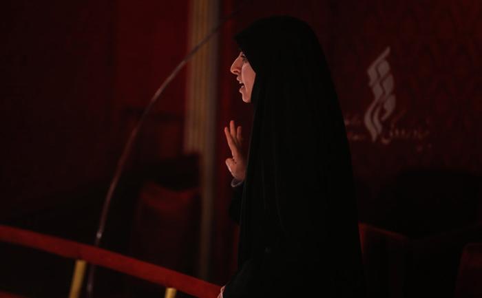 (تصاویر) تنش در اختتامیه جشنواره تجسمی فجر