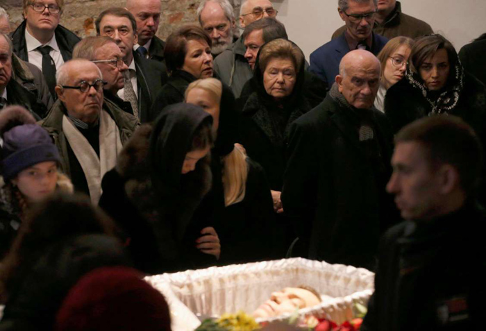 (تصاویر) تشییع و خاکسپاری «بوریس نمتسوف»