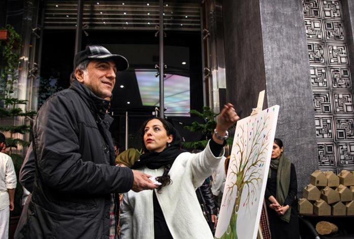 (تصاویر) استقلالیها در اکران خیریه«کاغذبیخط»