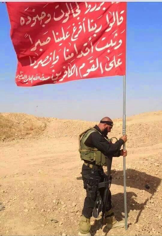 (تصاویر) ابوعزرائیل، پدیده نبرد تکریت