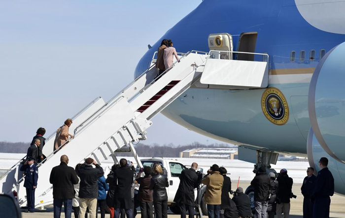 (تصاویر) اوباما و بوش در راهپیمایی