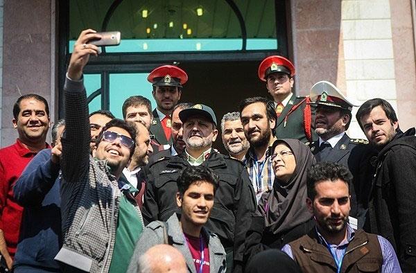 (تصویر) سلفی با احمدیمقدم