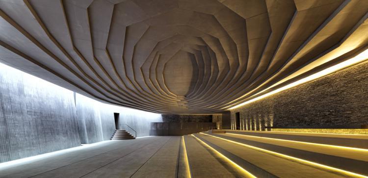(تصاویر) مسجدی به سبک غار حراء در ترکیه