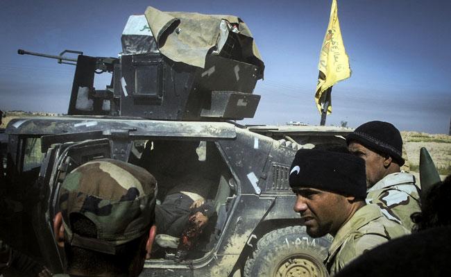 (تصاویر) پشت جبهه جنگ تکریت