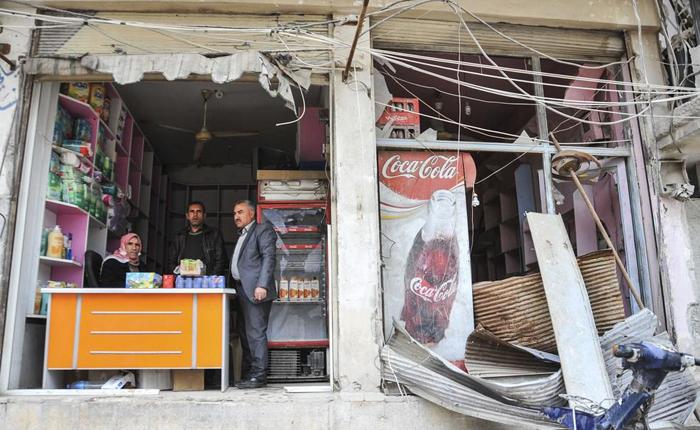 (تصاویر) بازگشت زندگی به کوبانی