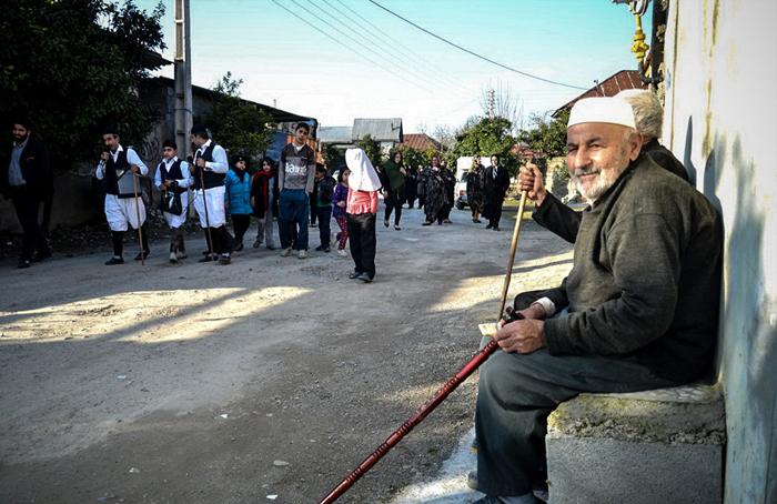 (تصاویر) آئین نوروزخوانی در مازندران