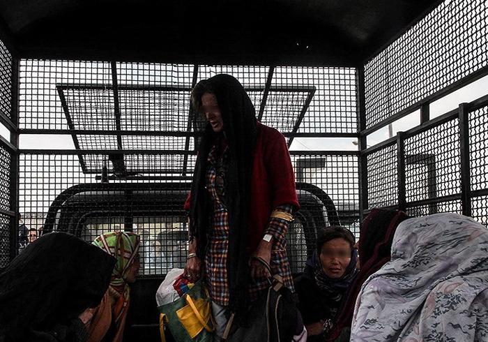 (تصاویر) جمعآوری معتادان و بیخانمانان مشهد
